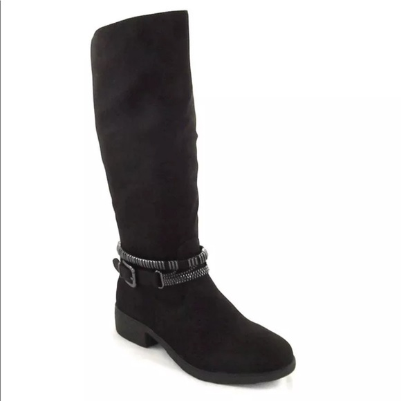 e22caf277d0 Style Co. Wardd Tall Moto Boots Dark Brown 6.5 W